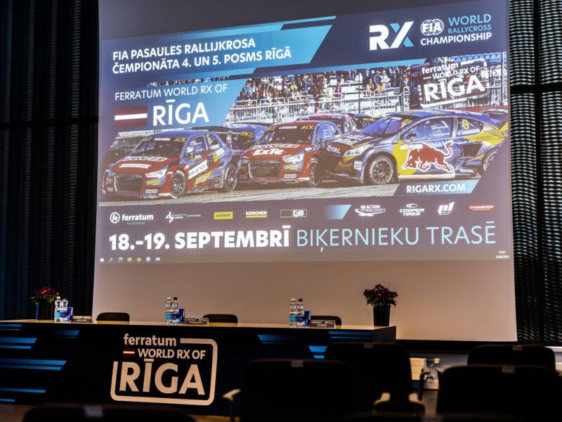 FERRATUM RIGA RX // PRESES KONFERENCE